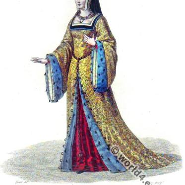 Anne de Bretagne (1477-1514), Duchess of Brittany, Queen of France.