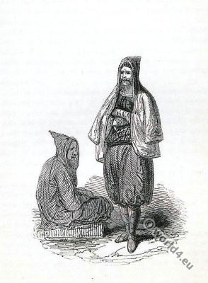 Crete, cloaks, costume, fashion, history, historical, dress, costumes, RobertPashley