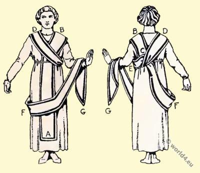 Byzantine Costume History. The toga picta. the LORUM