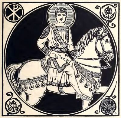 Byzantine Costume History. Justinian the Great.