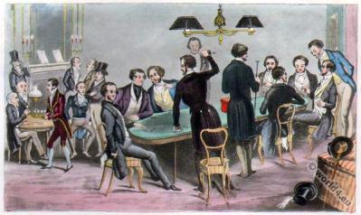Victorian fashion. Satirical 19th century. Dandy Clubs. Romantic era. Biedermeier era.