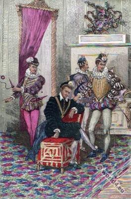 Henri III and the darlings
