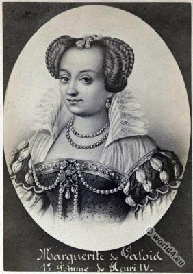 Marguerite de Valois. la Reine Margot. Renaissance nobility. 16th century fashion