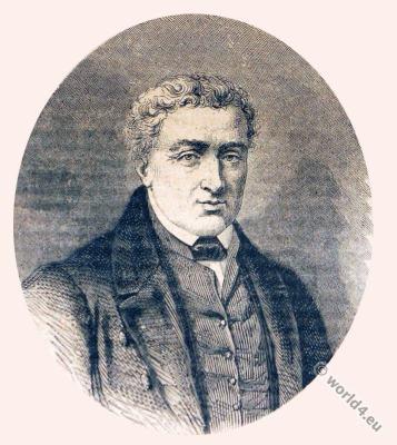 François Richard-Lenoir. French manufacturer of industrial fabric. First empire portrait. Napoleonic era.