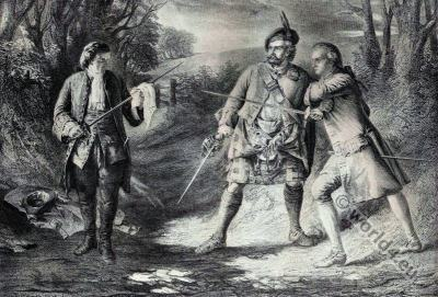 Rob Roy. Scottish folk hero and outlaw