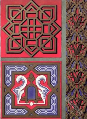 Moorish art. Decoration Alhambra in Granada