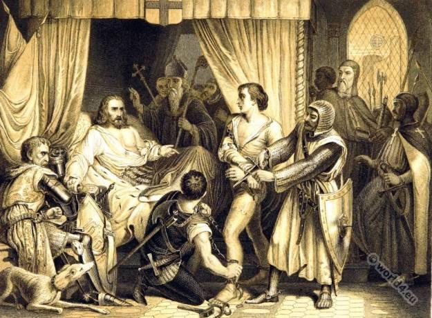 Richard Cœur de Lion, England King Richard I, Lionheart, King,EnglandMediaval knight,