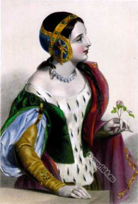 Isabella of France. Medieval Queen of England