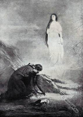 Lord Byron. Manfred and Astarte. English Romanticism. The Black Romance.