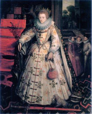 Elisabeth, Queen, England, Tudor, fashion history, Marcus Gheeraerts, Elder