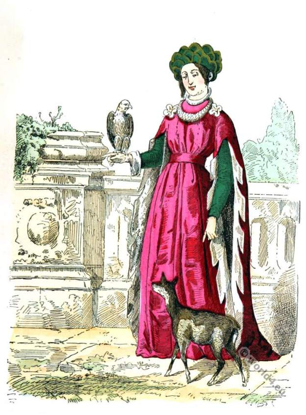 French princess. Madeleine of France. Renaissance clothing