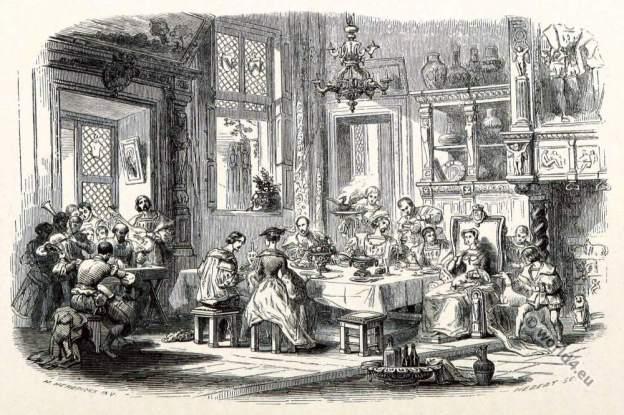 Margaret of Austria. Marguerite d'Autriche. Renaissance Court etiquette, clothing.
