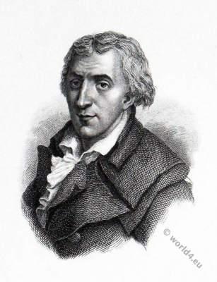 Jacques-Pierre Brissot de Warville. Girondins. French Revolution.
