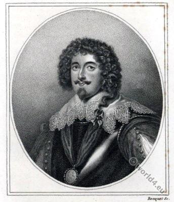 Richard Sackville, 5th Earl of Dorset. England 17th century nobility.