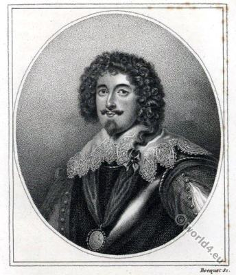 Richard Sackville, 5th Earl of Dorset. England 17th century nobility.