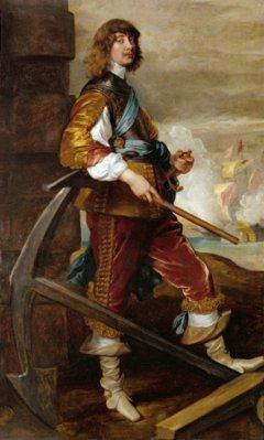 Algernon Percy, 10. Earl of Northumberland. Anthony van Dyck. Baroque fashion. England history