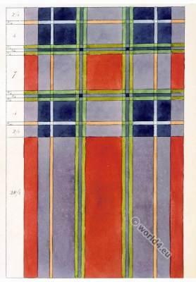 Tartan Pattern. Earl of Inverness. Fabric scotland