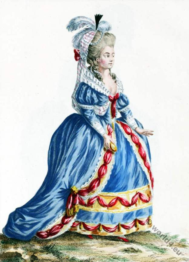 Estramadure, Actrice, Espagnol, Louis XVI, Court dress, Rococo, fashion history, 18th century