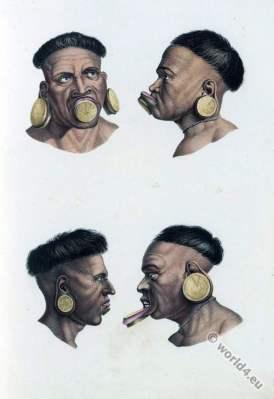 Botokuden, Aymoré, Krenak, Brazil, natives