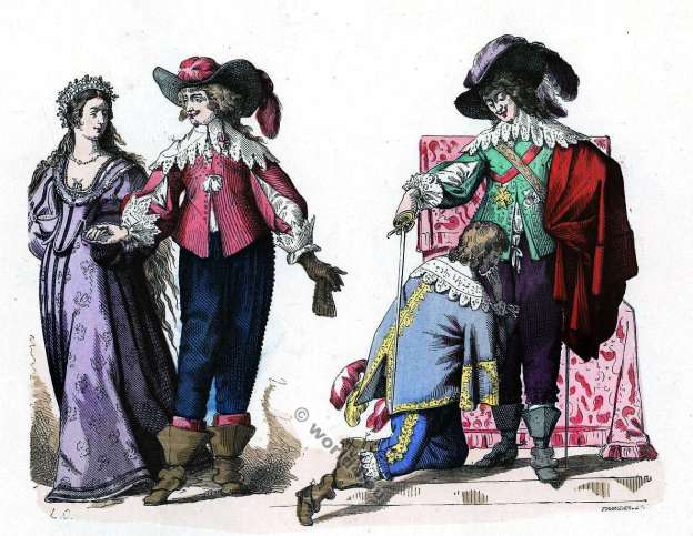 Mousquetaire, Gentilhomme , Baroque, Nobility, French, costume, fashion history, historical, dress, 17th century, Louis XIII
