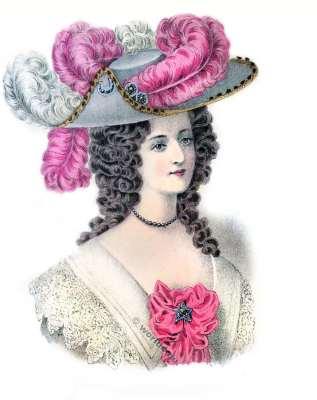 Coiffure Louis XIV. 17ème siècle. la mode baroque