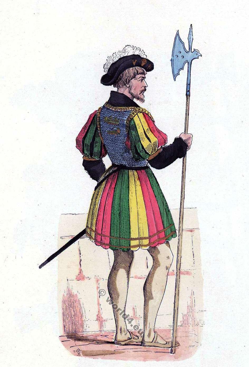 garde du corps de francois ier 16eme