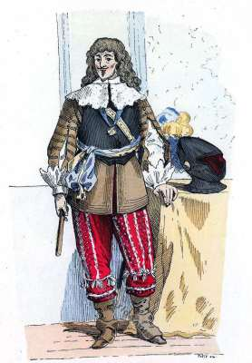 Gaston d'Orléans, Chef, Armées, Baroque, Nobility, French, costume, fashion history, historical, dress, 17th century,