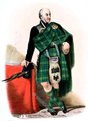 Campbell of Breadalbane. Clan. Tartan. Scotland. Clans of the Scottish Highlands.