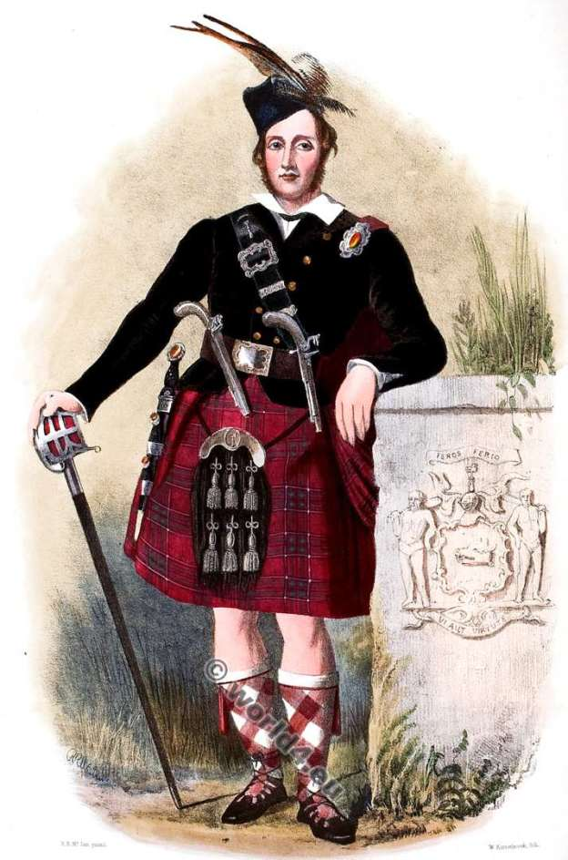 Clann Siosal. Chisholms Clan. Tartan. Scotland. Clans of the Scottish Highlands.