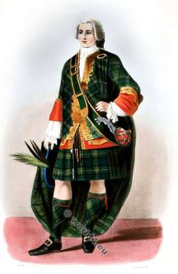 The Forbeses. Clan. Tartan. Scotland national costume. Clans of the Scottish Highlands.