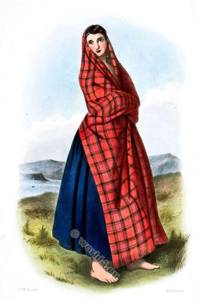 Sinclair - Clan Shinclair. Tartan. Scotland national costume. Clans of the Scottish Highlands.