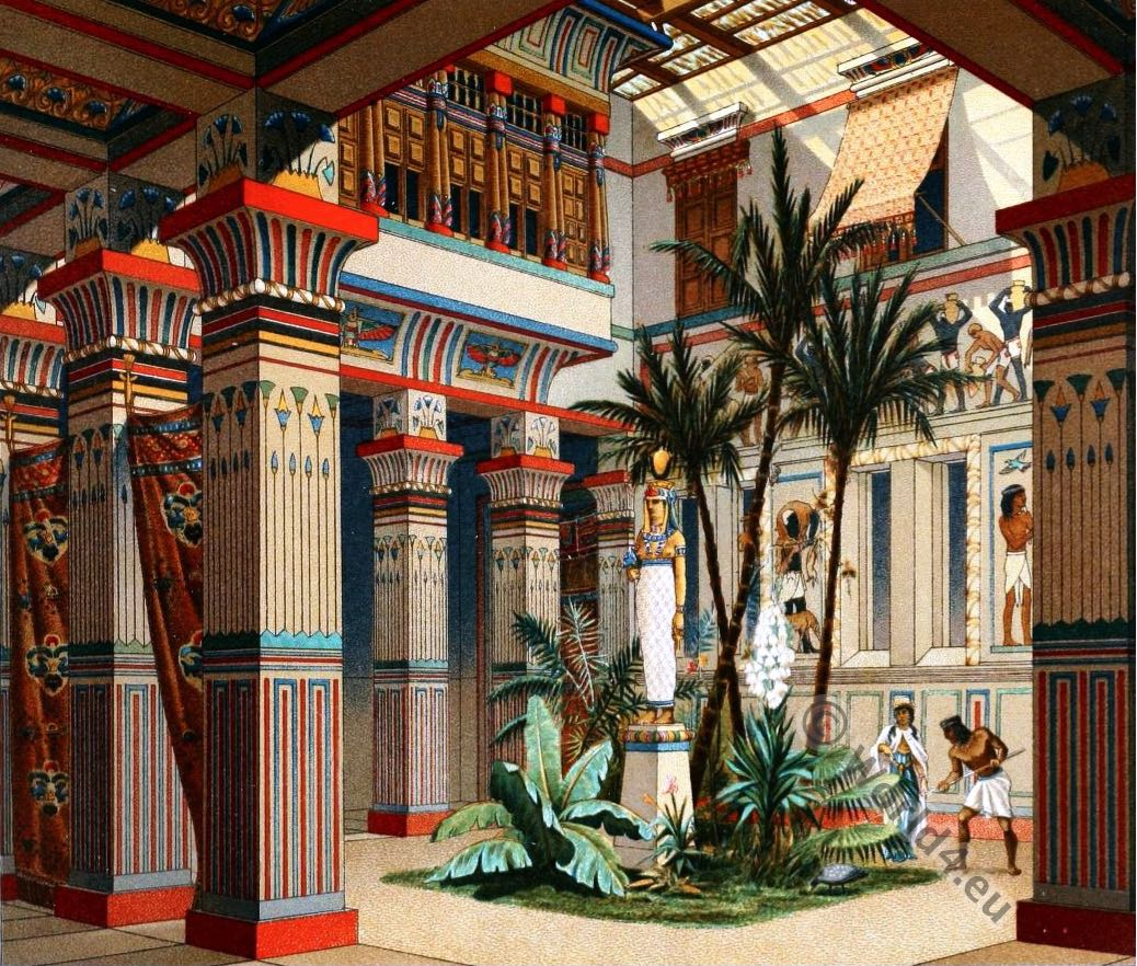 Ancient egyptian costumes - Architecturen volumes ...
