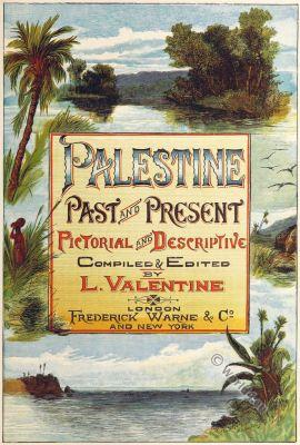Palestine Past and Present. River Jordan. Biblical place. Israel.