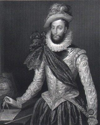 Sir Walter Raleigh.