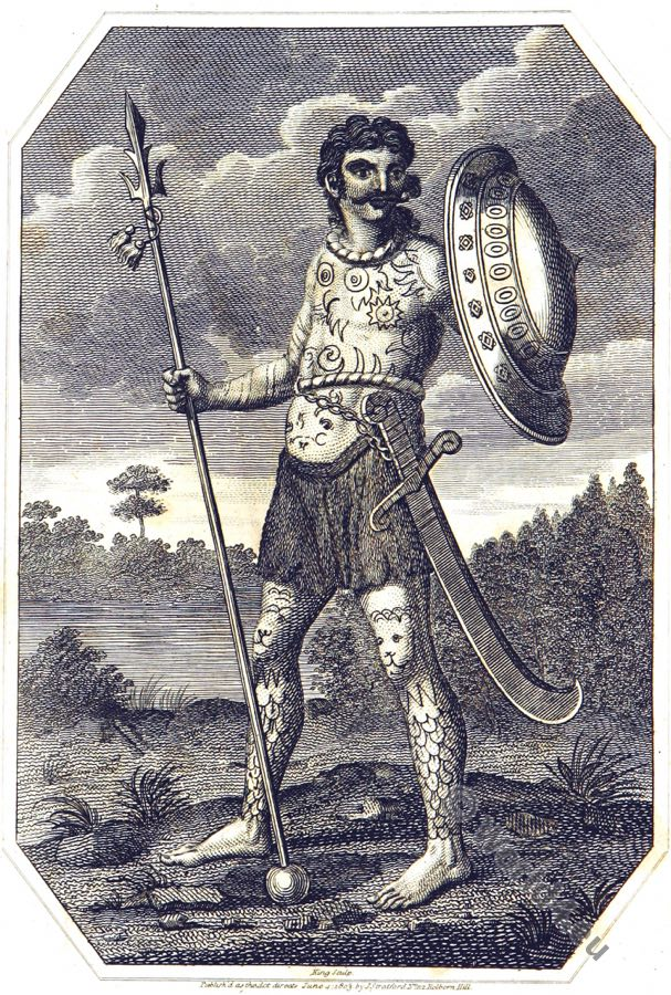 Celt, Ancient Britain warrior, Tattoo, Armour, Costume, savage, tribe, England