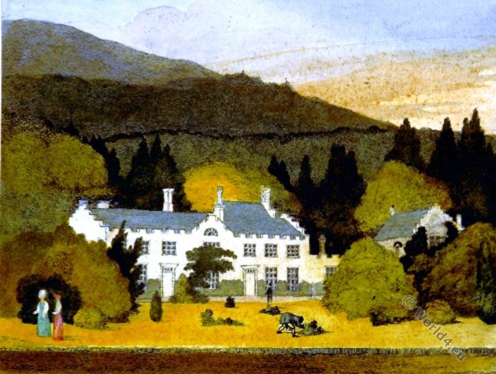 Aberpergwm House, Wales, England, architecture, country houses