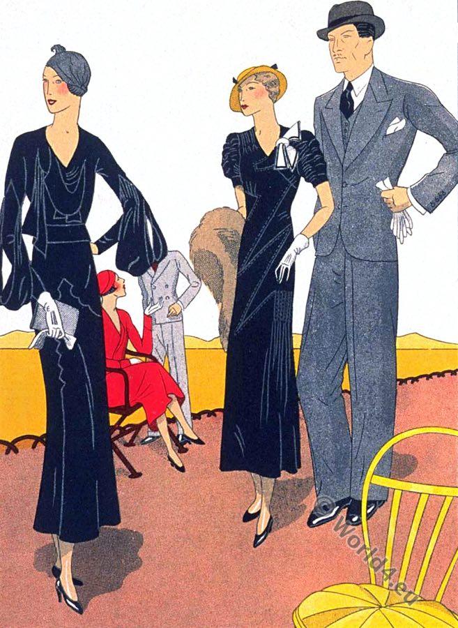 Bernard & Cie, Ardanse, haute couture, france, art-deco fashion