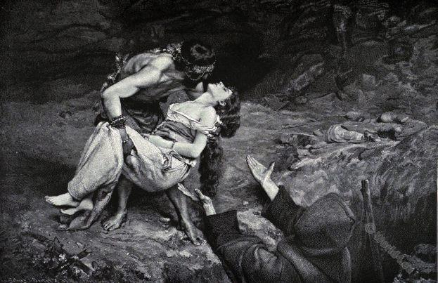 Atala. Francois Auguste Chateaubriand, Romantic novel