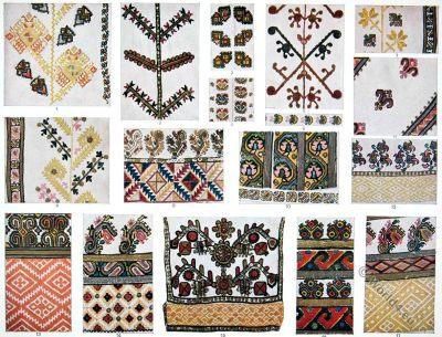 Romania, Romanian, balkan, embroidery, pattern, designs, traditional