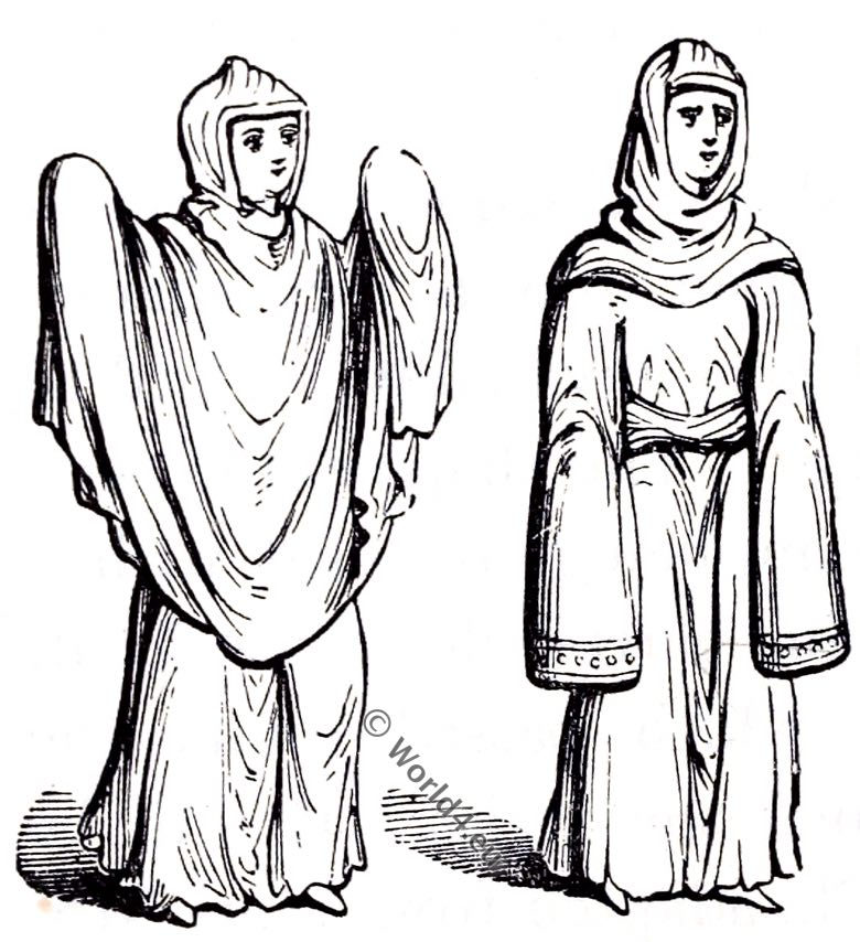 Anglo-Saxon fashion history. England c. 460 to 1066