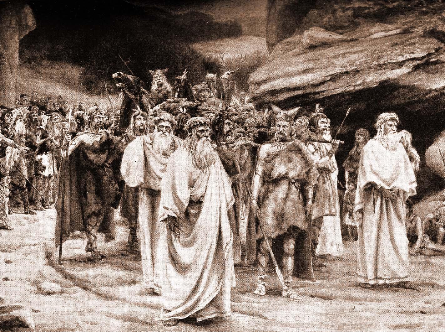 Resultado de imagem para celtic funeral