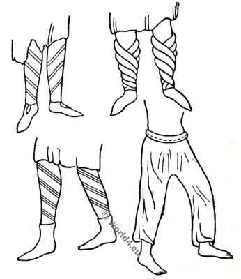 England, Norman, costume, boots, medieval, fashion