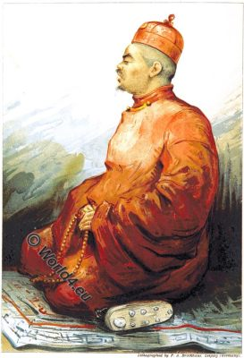 Tokchim Tarjum, Journey, Tibet, Costume, Monk,