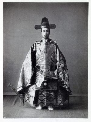 Old court dress, historical, historic, Japan, costume, Kazuma Ogawa, Photographer,