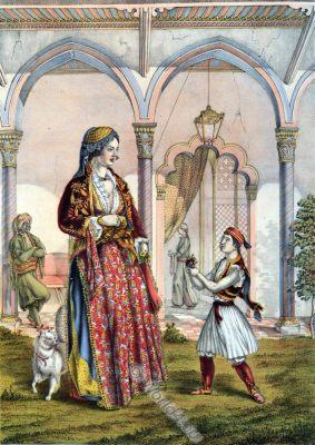 Turkish Lady, Oriental Album, Ottoman costumes, Ottoman Empire, Historical Clothing, Turkey, Costume history