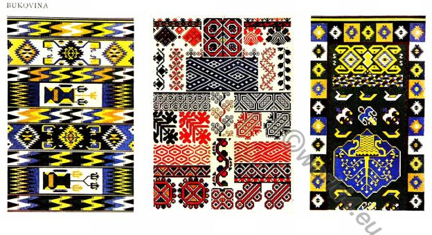 Embroidery, Carpets, design, Hungary, Charles Holme