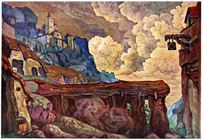 Nicholas Roerich, Décor, Théâtre,Theater, Russia, art, set design