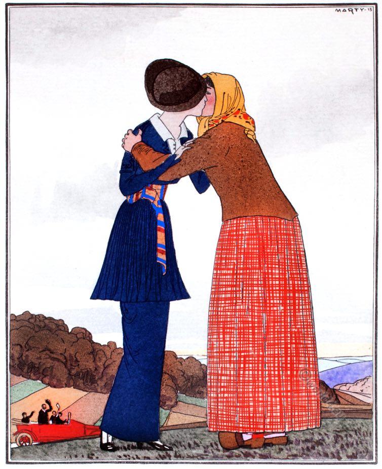 Georges Dœuillet, Robe, Fashion, history, Gazette, Bon Ton, Art deco