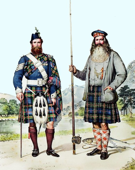 Atholemen, Donald MacBeath, William Duff, Kilt, Tartan, Scottland, Kenneth MacLeay