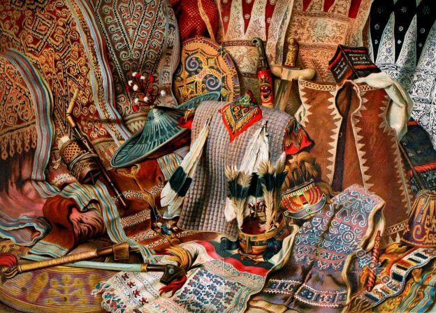 Malaysia, Indonesia, weapons, textil, fabrics design, ethnic, Kris, John Clark Ridpath,